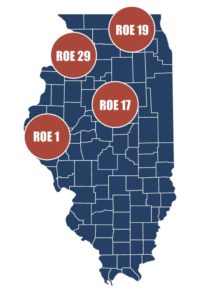 Regional Office of Education - Illinois Map