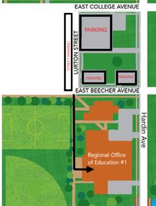 ROE Jacksonville Pearson map